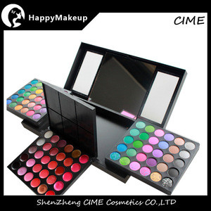 New Arrived Pro 156 Color Makeup Sets Eyeshadow+Lip Gloss+Foundation+Blusher Cosmetic Kit