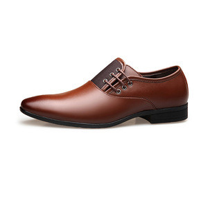 New wholesale big size 38-47 genuine leather mens dress shoes