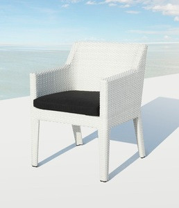 Rattan wicker restaurant chair