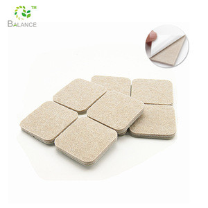 Self-stick backing furniture Felt Pad for high class furniture table chair feet protector