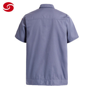 Short Sleeve Security Guard Uniforms For Man