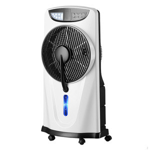 Solar portable water mist fan with mobile charger