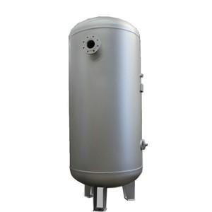 Stainless steel Industrial horizontal high pressure vessel hydrogen gas storage tank