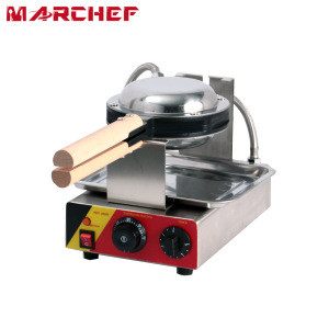 WF-6 CE Certified Snack Bars Commercial Electric Waffle Maker