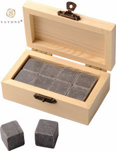 Whiskey Stones Gift Set Granite Chilling Whisky Rocks Marble Whisky Ice Stones Ice cubes Wine Cooling Rocks Bar Accessories