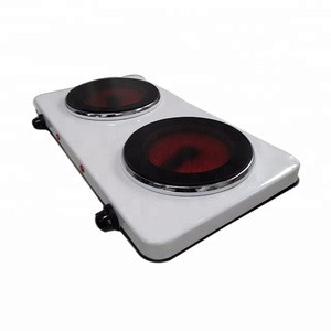 Wholesale Electric Double Burner Cooking parts Stove Cooktops