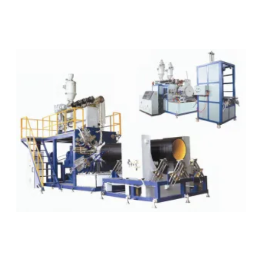 Large Diameter Spiral Corrugated Pipe Extrusion Line