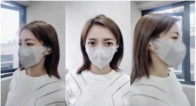 Graphene Anti-virus kn95 face mask re-use