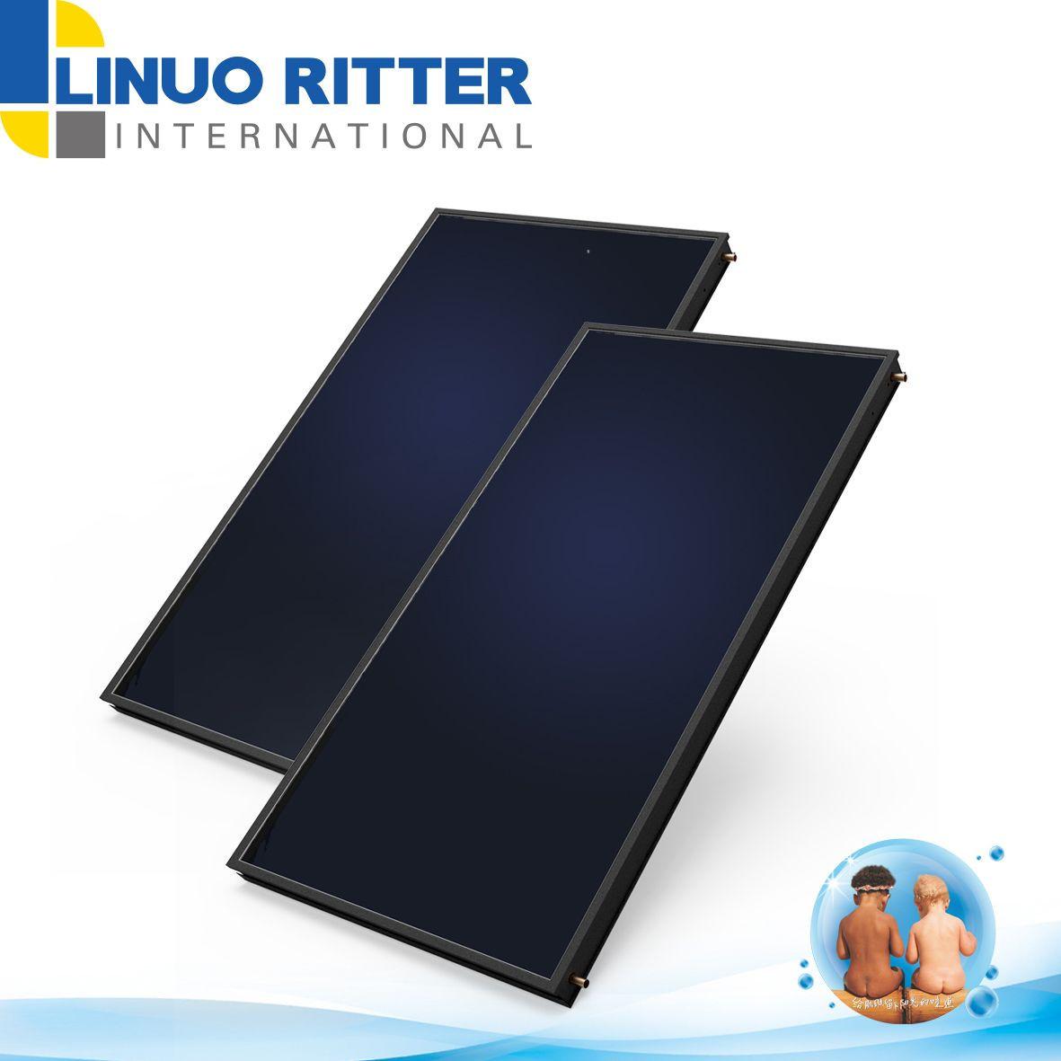 Flat plate solar collector-FPC-3/95