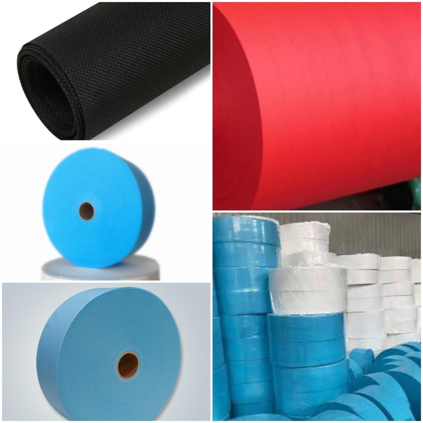 Nonwoven Fabric/Medical Mask Material/Nose Wire/Elastic Gum