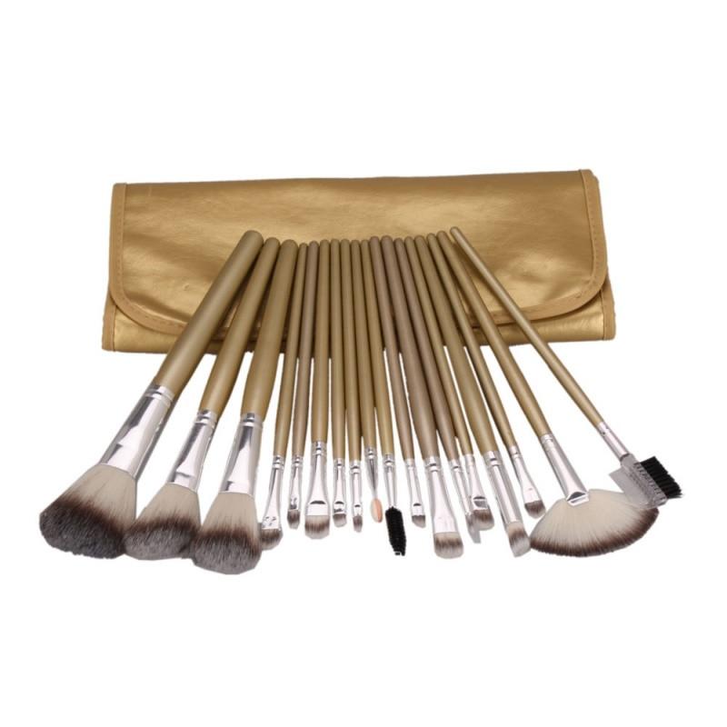18PCS Professional Makeup Brush Cosmetic Tool Kits