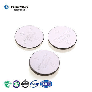 210mAh 3V lithium CR2032 button/coin cell battery