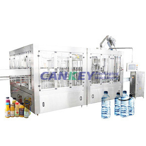 2.5KW Automatic 100Ml Bottle Filling Machine Mineral Water Bottling Plant