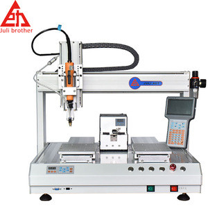 5331 desktop Fully automatic lock screw machine Four-axis High Speed Screw Locking machine