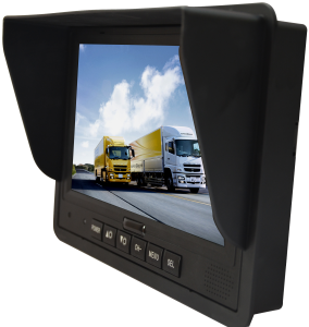 "7"" TFT LCD Panel car Monitor Cheap 7 Inch DIN13P air plug Monitor Manufacturer China"
