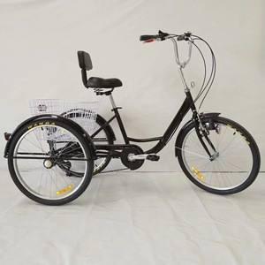 Adult big wheel tricycle/tricycle bicycle adult Trike/folding aluminum used adult tricycle sale