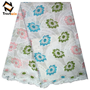 African new design swiss voile lace fabric for wedding