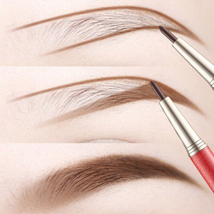 Automatically rotate eyebrow pencil to give eyebrow waterproof card + three replacement refills highlighter