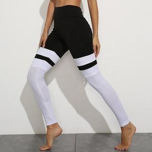 Cowinner Woman Compression Leggings Control Workout Legging High Waist Mesh Yoga Leggings
