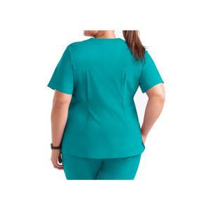 Custom fashionable scrubs nurse hospital uniform