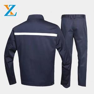 Custom high quality professional factory welding work suit mechanic worker uniform