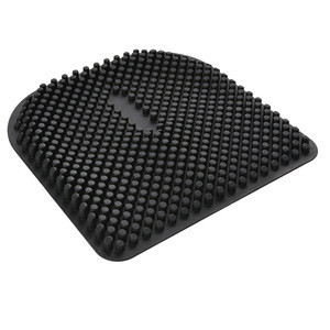 Factory Price Breathable Comfort Silicone Car TPE Gel Seat Cushion,adult car seat cushion