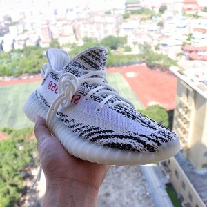Fashion Luxury Design Original  White Zebra 350 v2 Shoes Comfortable Sport Casual Sneaker For Men Kanye
