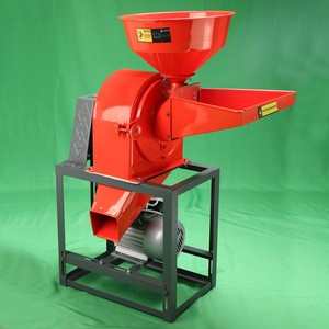 Grain processing machinery electric corn crusher, wheat soybean powder grinding machine, maize grinder