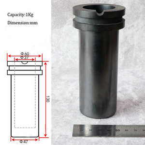 Graphite Melting Crucible Corrosion resistant High Purity Graphite Crucible