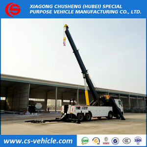 Heavy Duty China Cheap Rotator Road Wrecker 20ton 50 ton Tow Truck Road Recovery Truck for sale