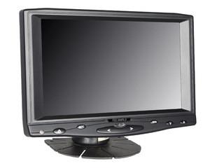 "High contrast ratio 500:1 energy saving image flip function 16:9 Aspect Ratio car 7"" monitor for DVD GPS system"