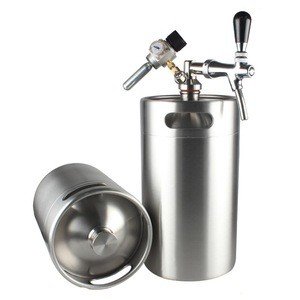 High quality 2gal/8l cornelius beer keg with tapping kit