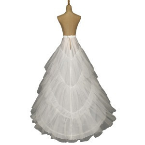 High quality gauze 3 hoop big tail apron wedding supplies