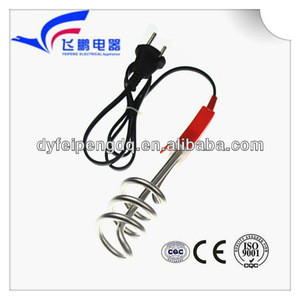 Home appliance spiral immersion water heater