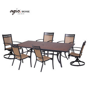 Hot Selling New Design Garden Furniture Sets Outdoor Patio Dining Table Set