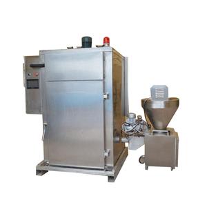 Multifunction processing automatic chicken food fish smoking machine equipment