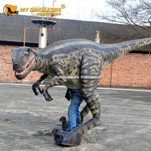 My Dino Amusement Props Dinosaur Walking Costume Velociraptor
