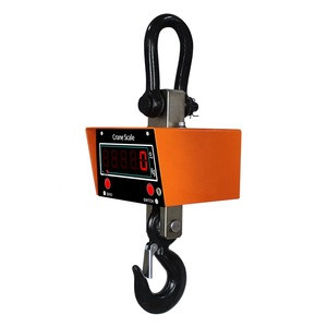OCS Remote Control Industrial Weighing Hanging Digital Crane Scale 5 ton