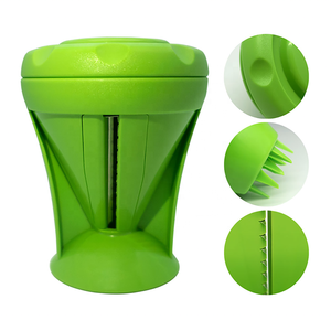 OEM Good Quality Any Color ABS And Stainless Steel Kitchen Gadgets Spiral  Handy Slicer Kitchen Gadgets For Home