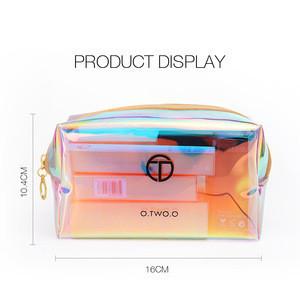O.TWO.O 10pcs/set Makeup Kit Include Liquid Highlighter Concealer Matte Lipstick Pressed Powder Mascara Eyeliner Cosmetics Bag