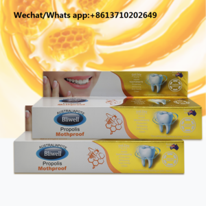 Private label  Propolis mothproof/Fresh odor Charcoal powder toothpaste manufacturer in China