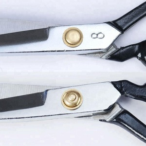 Professional Stainless Steel Tailor Scissors - 7 Inch Fabric Embroidery Arts Crafting Shears