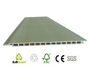Pvc curtain wall cladding profiles