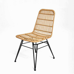Renel Handmade Rattan Wicker Woven Bistro Bar Bench Barstool / Dining / Chair
