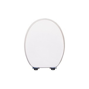 Round MDF/Moulded Toilet seat cover with Soft Close function/Zinc hinge