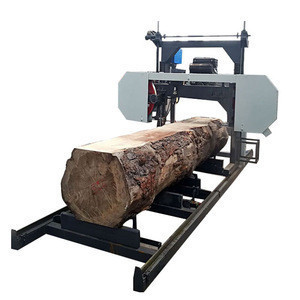Shandong Horizontal Wood Portable Band Saw Sawmill Log Sawing Machine