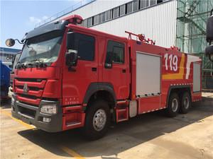 Steyr 6X4 20000KG heavy duty fire engine/fire fighter truck