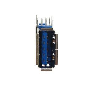 USB3.0 side plug Female Vertical 18 Pin DIP A