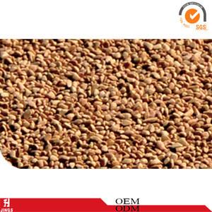 Walnut shell surface grinding abrasive for highgloss polishing of metal parts