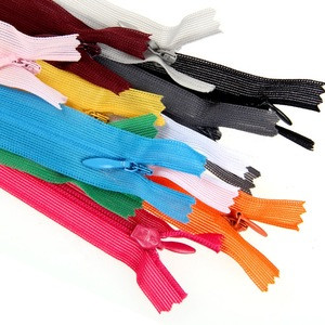Wholesale #3 nylon Invisible zipper